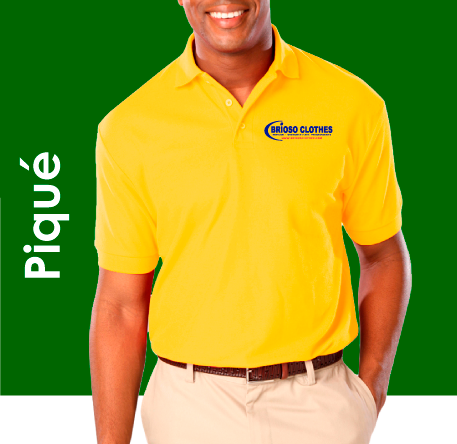 Brioso Clothes Polo-Shirt e Uniforme de Pique